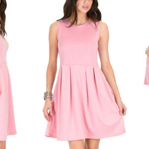 Lyss Loo Fit & Flare Skater Dress with Pockets S
